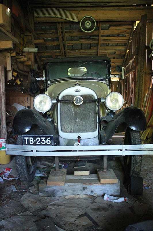 Vanhan auton entisöinti